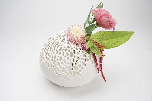 Medium Round Bubble Vase