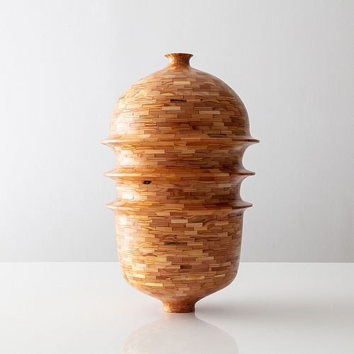 STACKED Triple Ring Vase