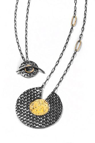 Woven Statement Necklace