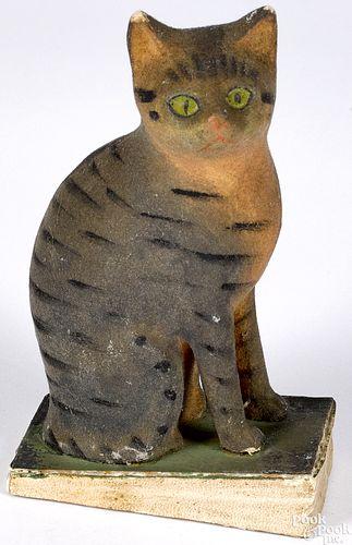 Cat pipsqueak toy, 19th c.
