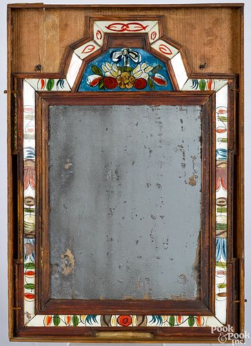Courting mirror, 18th c.