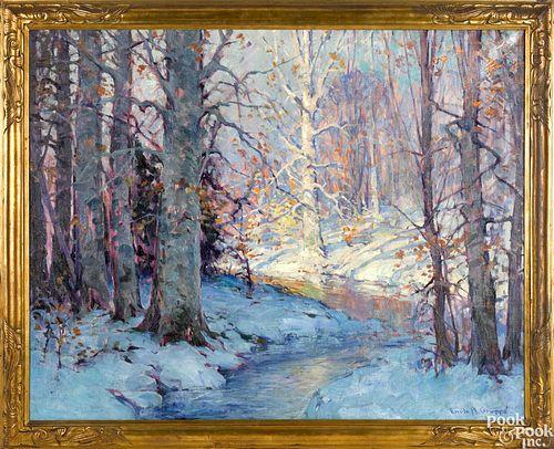 Emile A. Gruppe oil on canvas