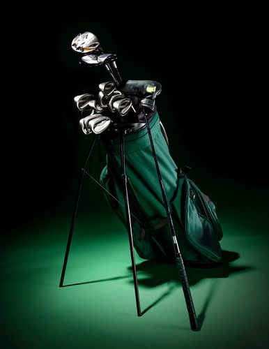 A Set of President Bill Clinton Personally Owned and Used Golf Clubs,