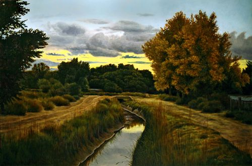 Juan Wijngaard, Evening on the Acequia
