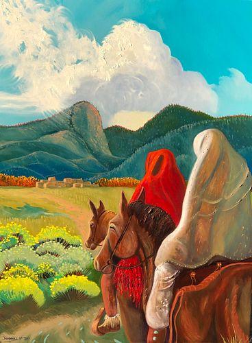 Ed Sandoval, To the Pueblo