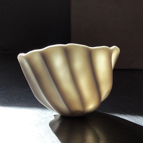 Rounded Ribbed Bowl