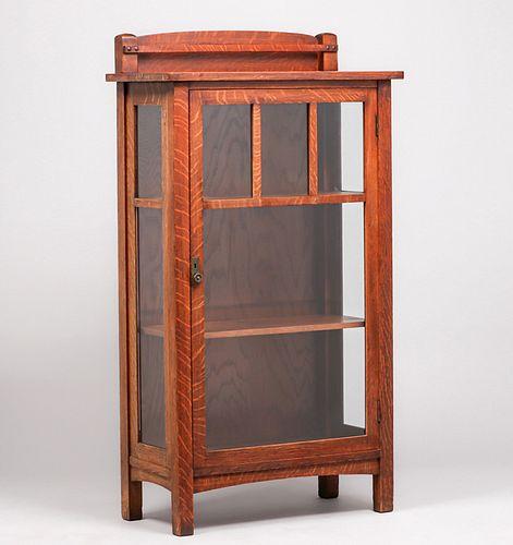 Limbert One-Door China Cabinet c1910