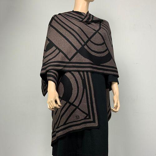 100%  Egyptian Cotton Knit Deco Cape
