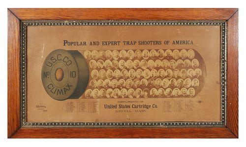 1880s US Cartridge Ad w ANNIE OAKLEY