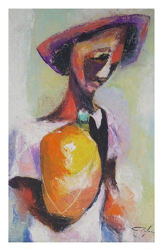 DIEUDONNE CEDOR, Haitian Modernist O/C