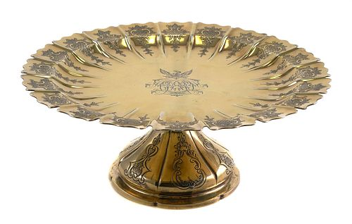 1813 Georgian Sterling Silver Tazza