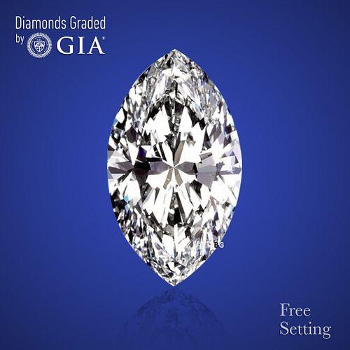10.18 ct, Color D/VS1, Marquise cut Diamond