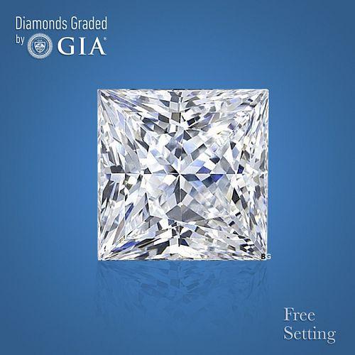 1.50 ct, Color G/VS1, Princess cut Diamond