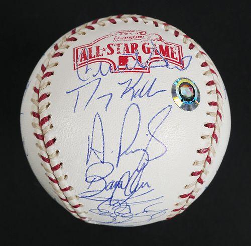 2004 MLB All Star Game Signed Ball