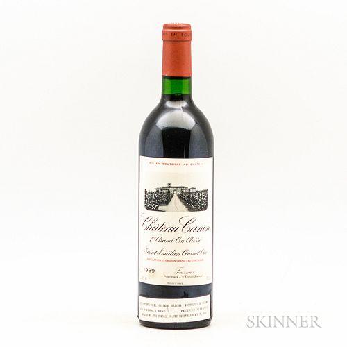 Chateau Canon 1989, 1 bottle