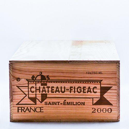 Chateau Figeac 2000, 12 bottles (owc)
