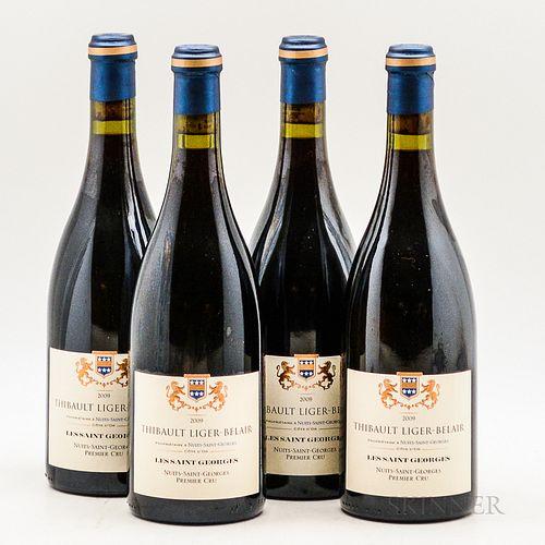 Thibault Liger Belair Nuits St Georges Les St Georges 2009, 4 bottles