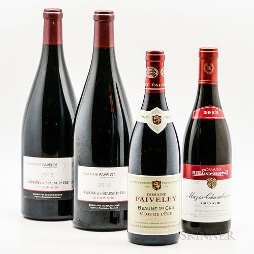 Mixed Burgundy, 2 magnums 2 bottles