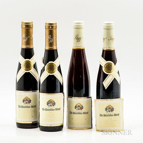 Dr. Burklin-Wolf, 4 demi bottles