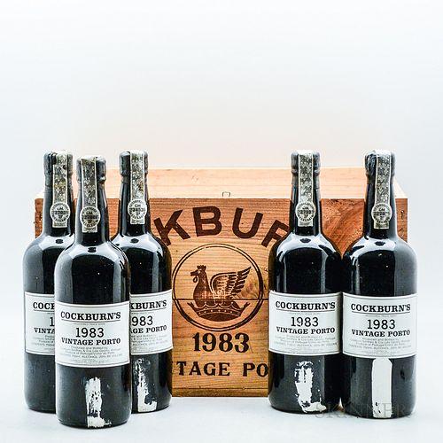 Cockburn 1983, 5 bottles