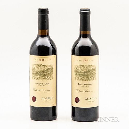 Araujo Cabernet Sauvignon Eisele Vineyard, 2 bottles