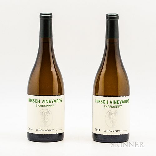 Hirsch Vineyard Chardonnay 2014, 2 bottles