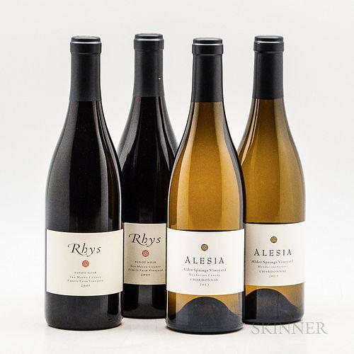 Rhys Vineyards, 4 bottles