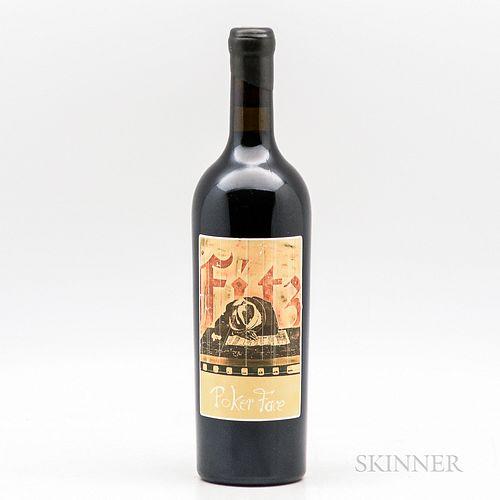 Sine Qua Non Syrah Poker Face 2004, 1 bottle