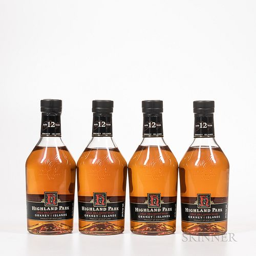 Highland Park 12 Years Old, 4 750ml bottles (ot) Spirits cannot be shipped. Please see http://bit.ly/sk-spirits for more info.