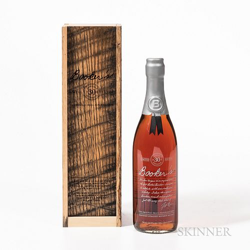 Booker's 30th Anniversary, 1 750ml bottle (owc) Spirits cannot be shipped. Please see http://bit.ly/sk-spirits for more info.