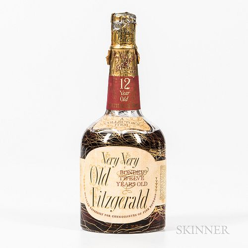 Very Very Old Fitzgerald 12 Years Old 1952, 1 4/5 quart bottle Spirits cannot be shipped. Please see http://bit.ly/sk-spirits for mo...