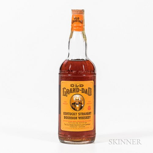 Old Grand Dad 4 Years Old 1953, 1 4/5 quart bottle Spirits cannot be shipped. Please see http://bit.ly/sk-spirits for more info.