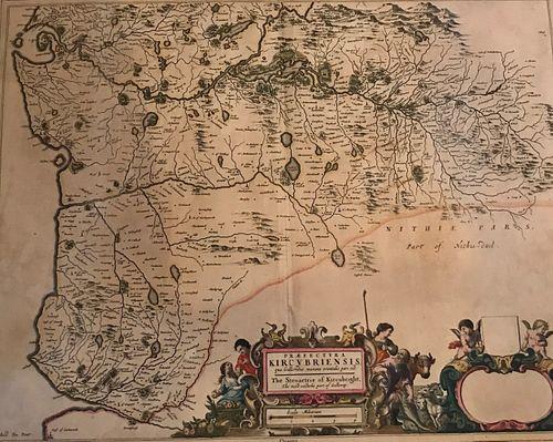 Original Timothy Pont, Blaeu, Joannes Atlas of Scotland