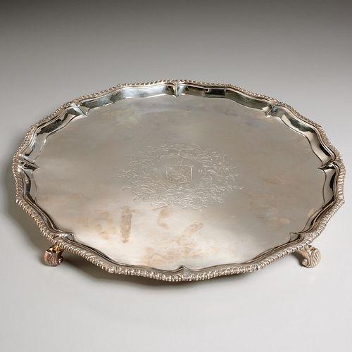 Richard Rugg, George III silver salver
