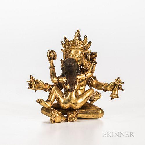 Gilt-copper Alloy Figure of Sitasamvara