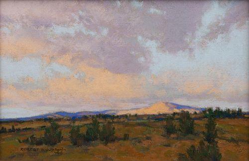 Robert Knudson (American, 1929-1989)  Evening Sky-Wyoming