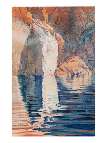 Merrill Mahaffey (American, b. 1937) Submerged Lake Powell, 1987