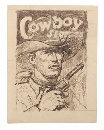 Arthur Roy Mitchell (American, 1889-1977) Cowboy Stories
