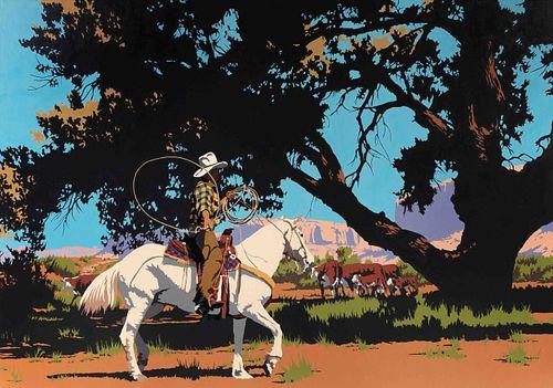 Billy Schenck (American, b. 1947) Days of August, 1986