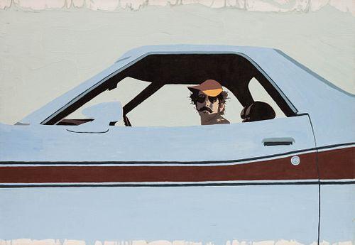 Billy Schenck (American, b. 1947) Blue Streak,1977
