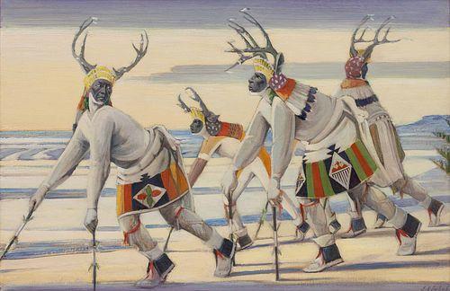 Joseph Imhof(American, 1871-1955)The Camoufleurs