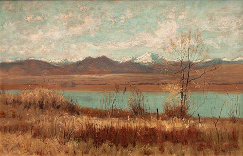 Charles Partridge Adams  (American, 1858-1942) Colorado Landscape, 1892