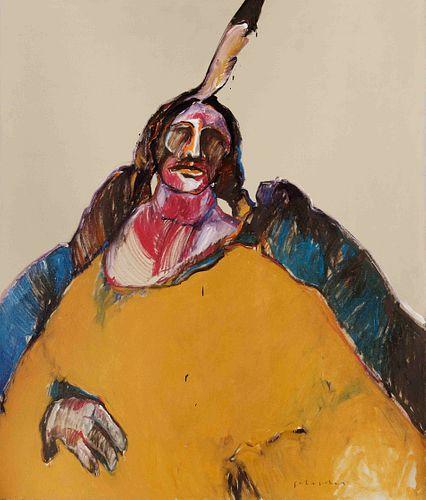 Fritz Scholder(American, 1937-2005)Indian Messiah, 1975