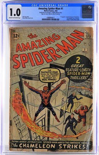 Marvel Comics Amazing Spider-Man #1 CGC 1.0