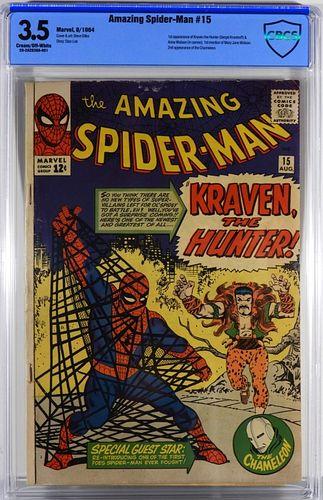Marvel Comics Amazing Spider-Man #15 CBCS 3.5