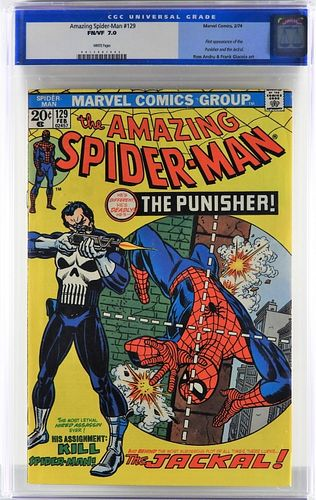 Marvel Comics Amazing Spider-Man #129 CGC 7.0