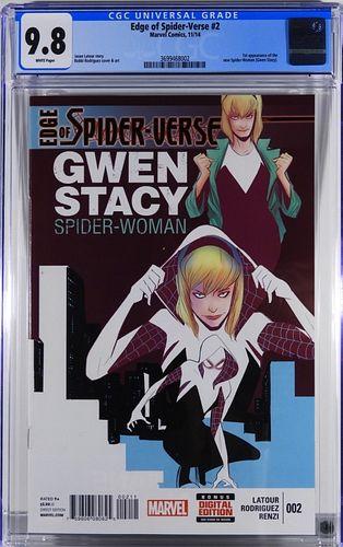 Marvel Comics Edge of Spider-Verse #2 CGC 9.8