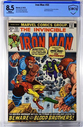 Marvel Comics Iron Man #55 CBCS 8.5