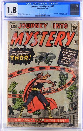 Marvel Comics Journey Into Mystery #83 CGC 1.8