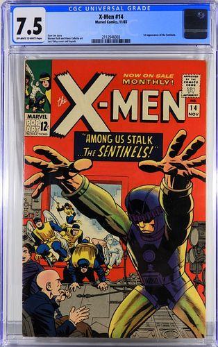 Marvel Comics X-Men #14 CGC 7.5
